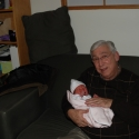 Grandpa Howie and Sara
