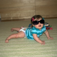 So cool in Momma's shades