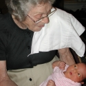 Great Grandma and the baby