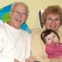 Bubbie, Grandpa and Sara